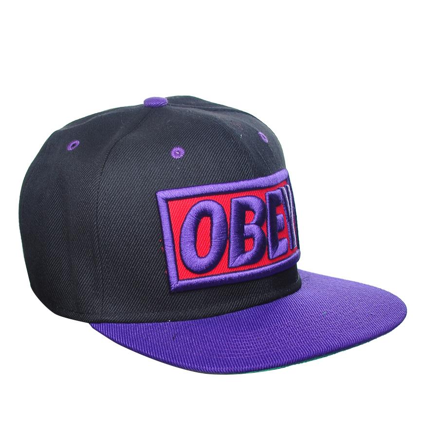 Obey Purple Black