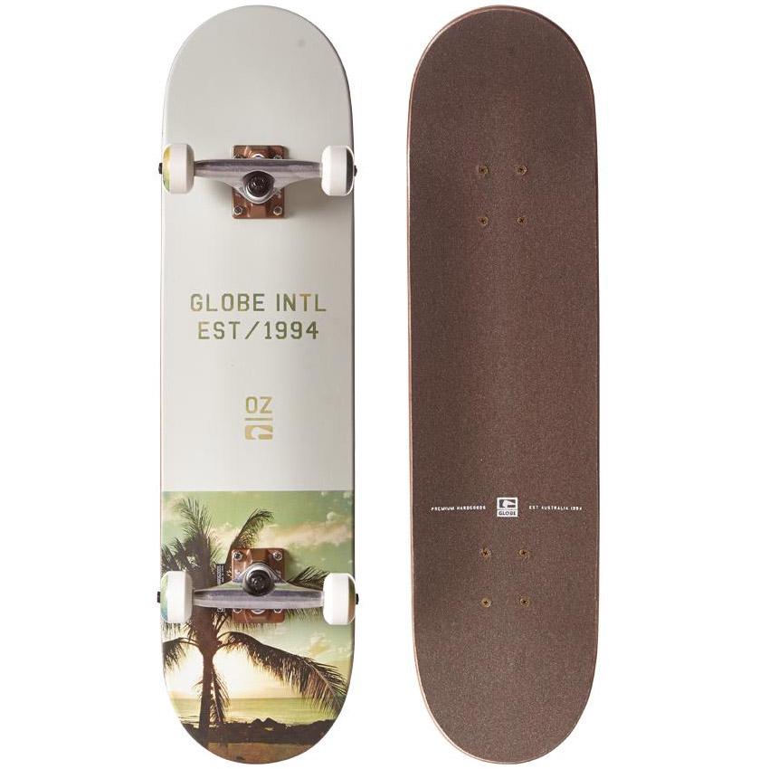 Globe Varsity Palm Fog Skateboard 10525190
