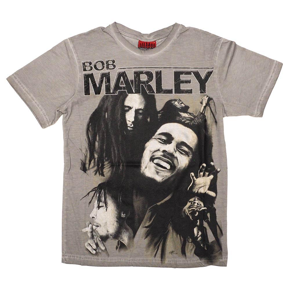 Bob Marley T-Shirt - Gri