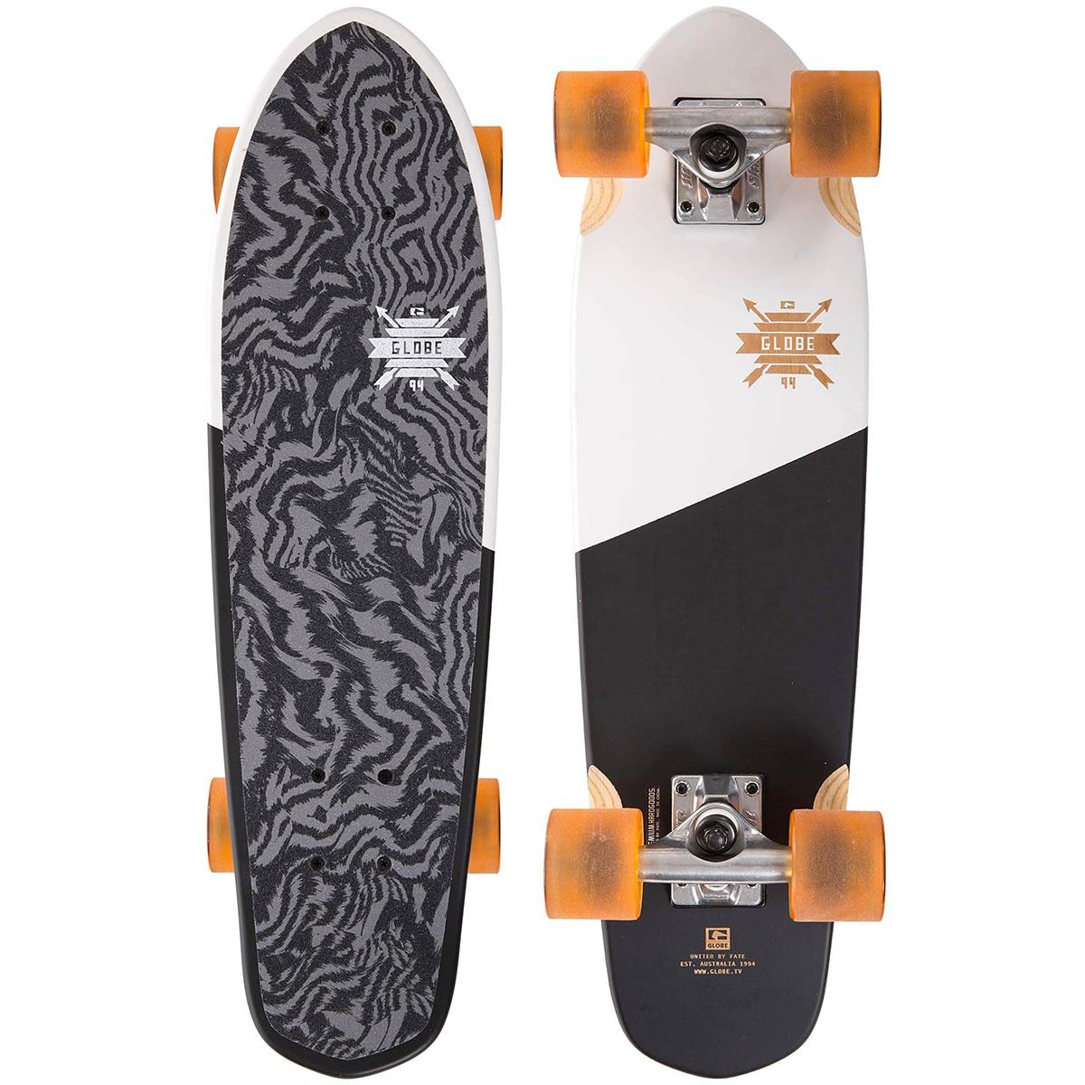 Globe Blazer 26 Black/White/Tailspin Skateboard 10525125