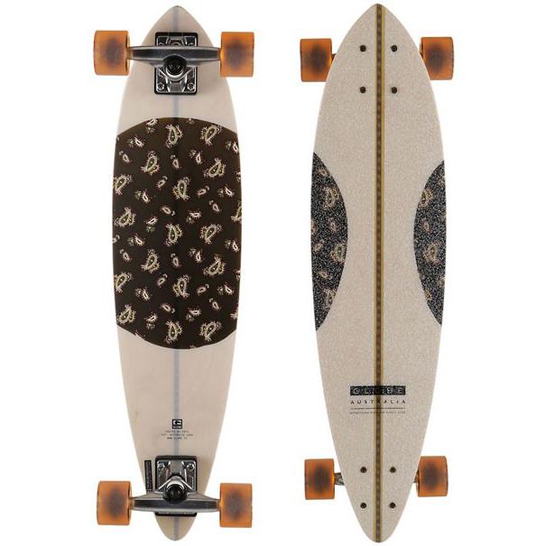 Globe Blazer 29.5 Paisley Fibercarve Skateboard 10525194