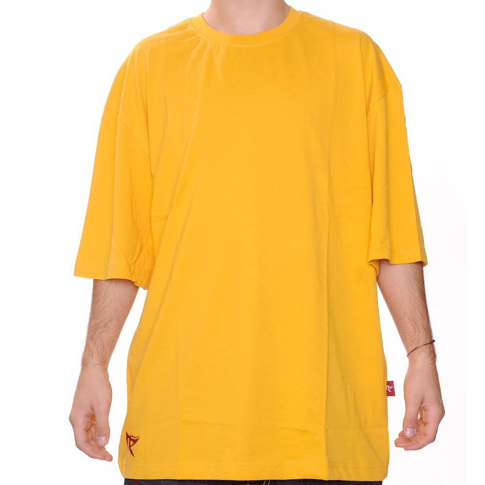 Düz T-Shirt - Sarı