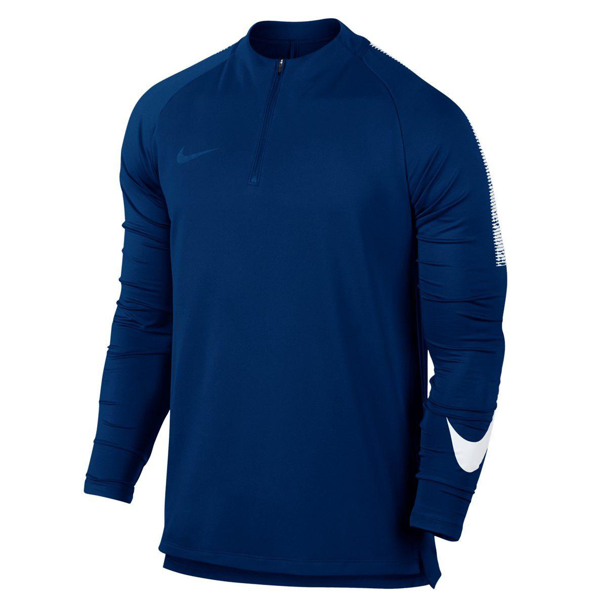 Nike Dry Squad Drill Uzun Kollu Erkek Tişört 859197433