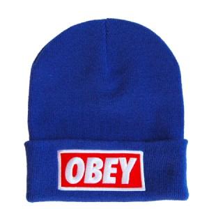 Obey Blue