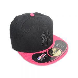NY Black / Pink Visor