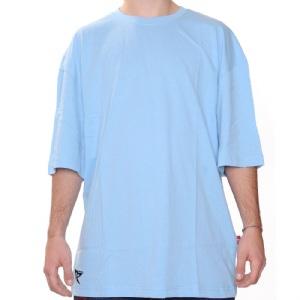 Düz T-Shirt - Mavi