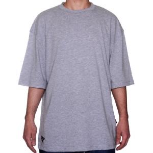 Düz T-Shirt - Gri