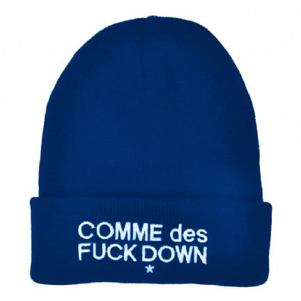 Comme Des Fuck Down Blue