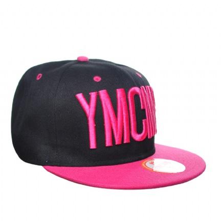 YMCMB Pink Black