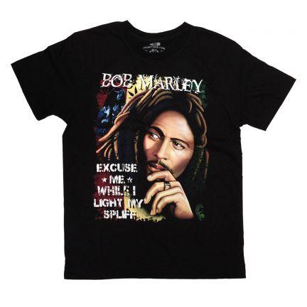 Bob Marley T-Shirt - Siyah