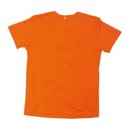 Düz T-Shirt - Turuncu - Dar Kesim