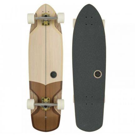 Globe Stubby V Ply Off White Brown Longboard 10525223