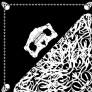 Skull - Black - Çift Taraflı